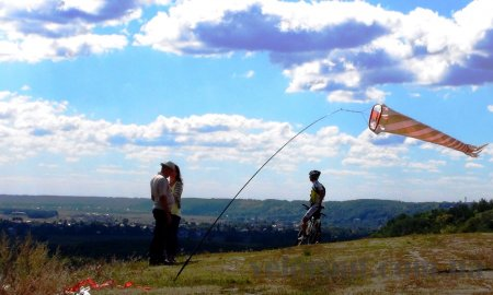 Веломаршруты (veloroute) Киевщина: Дніпровські кручі грунтами (Художественная часть)